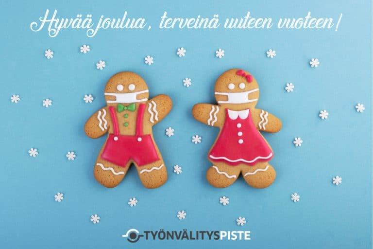 Nyt on aika kiittää ja toivottaa hyvää joulunaikaa!